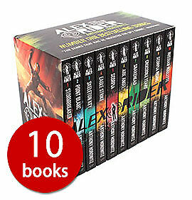 Alex Rider Collection - 10 Books