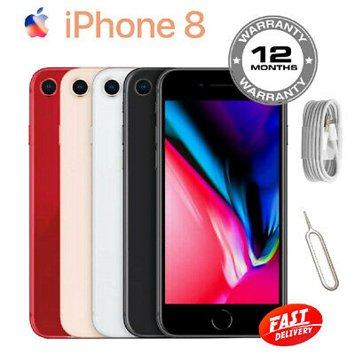 Apple iPhone 8 Smartphone 64GB 256GB Unlocked SIM Free Various Colours Uk