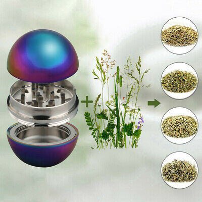3-layer 52mm Metal Herb & Spice Mills Tobacco Grinder Spice Graters Cursher