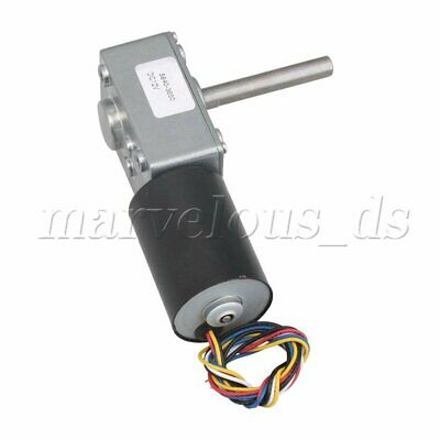 20 RPM Metal Gear Boxs Reducer Gear Motor DC Brushless Worm Motor 12V