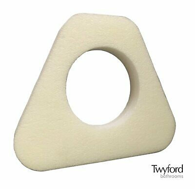 Triangle Gasket Foam Washer Seal for Twyford Close Coupled Toilet Pan & Cistern