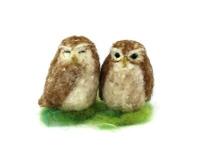 Needle Felting Kit by The Makerss - Little Owl