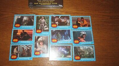 "Star Wars ""Journey To The Rise Of Skywalker"" 2019 (Blue Base Card's ""You Pick"")!"