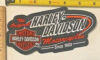 Retired Harley Davidson Genuine Patch - Retro EM161303