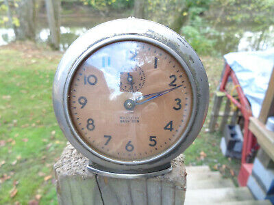 ANTIQUE VINTAGE Clock ALARM PARTS AS-IS ESTATE WESTCLOX BABY BEN ESTATE HAUL
