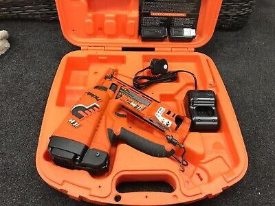 Paslode Im65 Angled Lithium Ion 2Nd Fix Bradder In  Good Condition Tool 732