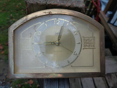 ANTIQUE VINTAGE Clock ALARM PARTS AS-IS ESTATE TERGER ANKER SEDBURY GERMANY
