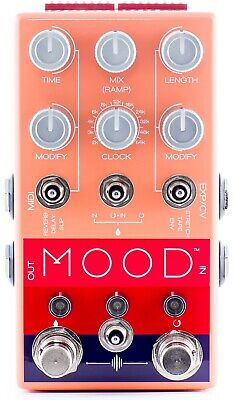 Chase Bliss Audio MOOD - 2 channel granular micro-looper/delay FREE USA SHIPPING