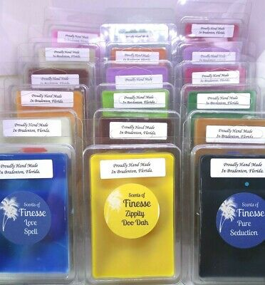 WAX MELTS TARTS, Highly Fragranced, Hand Made, you choose Scents.