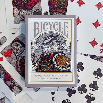 Bicycle Owl Playing Cards Deck Brand New Sealed