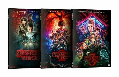 StrangerThings:TheComplete DVD SeriesSeason 1 2 3 ONE TWO THREE
