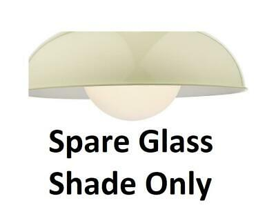 1 x Spare Dar Cosmic Ceiling Light Shade Only Glass Clear COS0350 Genuine