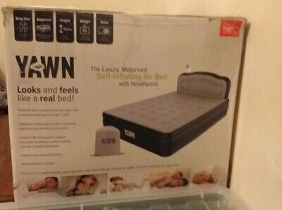 Yawn double air bed