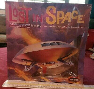 Lost In Space Limited Edition 1of 5000 Silver Chrome Jupiter 2 Polar Lights 8003