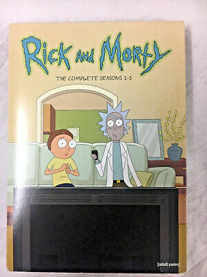 Rick and Morty: The Complete Series Seasons 1 2 3 (6-Disc DVD, Box Set)FREE SHIP