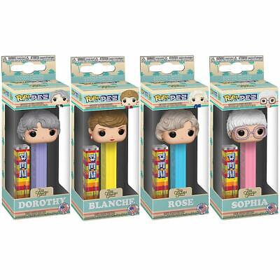 Golden Girls Funko POP! PEZ Set of 4 Candy Dispensers