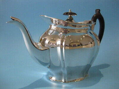 Stunning And Very Elegant Antique Silver Plated Teapot in The Art Nouveau Style