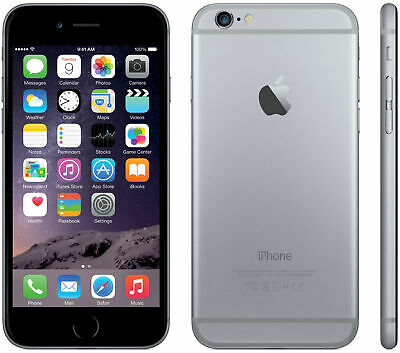 *MINT* BOOST Apple iPhone 6 Space Gray 32GB 8MP 4G LTE Video Smart Cell Phone