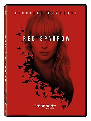 Red Sparrow (DVD, 2018) BRAND NEW, Jennifer Lawrence *FREE SHIPPING!