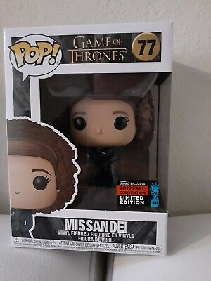 FUNKO POP! Game of Thrones #77 Missandei NYCC Exclusive