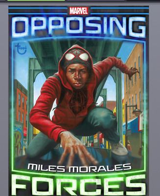 Topps Marvel Collect Card Trader Miles Morales vs Hammerhead OPPOSING FORCES