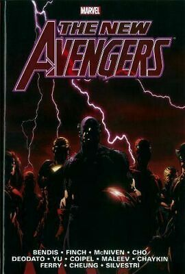 The New Avengers Vol. 1 - Bendis Marvel Omnibus [Hardcover] New and sealed!