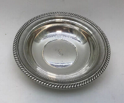 Gorham Reticulated Pierced Gadroon Edge Bon Bon Bowl Sterling Silver 336 5 3/4""
