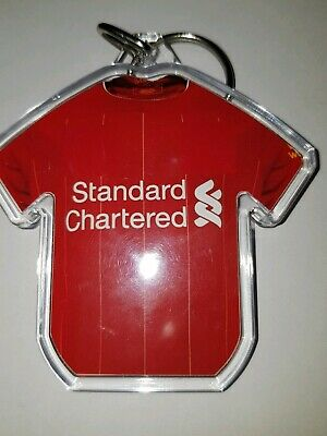 Liverpool FC styled personalised keyring with badges