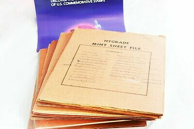 One Cent - Thirteen Cent Postage Stamps US Mint Sheets              **LOTS 3602B
