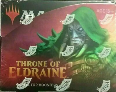 Magic MTG Throne of Eldraine COLLECTOR Booster Box FACTORY SEALED NEW