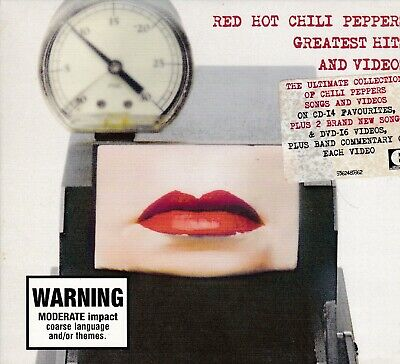Red Hot Chili Peppers  Greatest Hits And Videos  CD /DVD