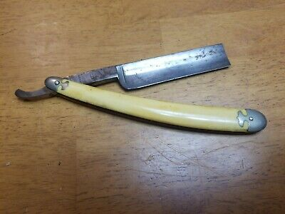 Vintage A. Witte  Full Concaved Straight Razor  Germany