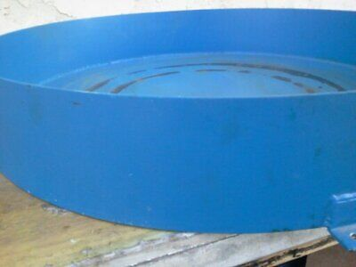 Hydro Test Drain Pan Round 3Ft X 6In Tall X 1/4 Thick 100Lbs Metal
