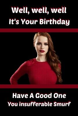 Riverdale Cheryl Birthday Card