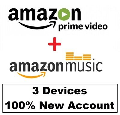 6 months Amazon Prime Video + Amazon Prime Music | Fast Delivery | WORLDWIDE |