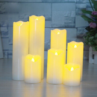 LED Flameless Tea Light Tealight Candle Wedding Decoration Battery Included AU