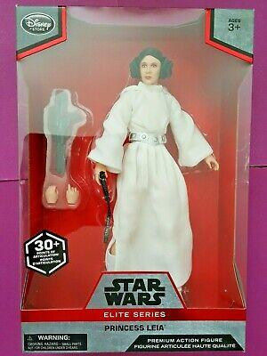 Disney Store Star Wars Elite Series Princess Leia Premium Action Figure