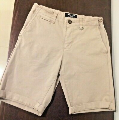 Industrie Indie kids Brand DENIM STYLE casual Shorts adjustable tabs Size 10