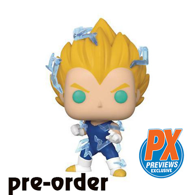 Funko Pop! Dragon Ball Z Super Saiyan 2 Vegeta PX Exclusive Pre-Order SSJ2