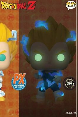 Funko Pop! Dragon Ball Z Super Saiyan 2 Vegeta PX Previews Chase Glow Pre-Order
