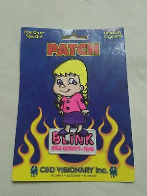 Blink 182 - C&D Visionary Inc. - Embroidered Patch - Little Girl Logo