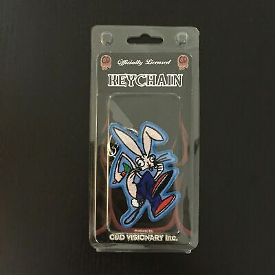 Blink 182 - C & D Visionary - Keychain - 2004 - Enema Of The State - Bunny