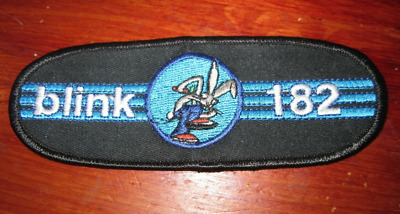 Blink 182 - C & D Visionary - 1998 - Embroidered Bunny Patch