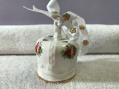 Christmas ornament Royal Albert Old Country Roses Crown  EX2630