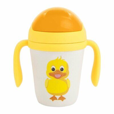SUNNYLIFE | NO PLASTIC FANTASTIC Eco Sippy Cup - Ducky