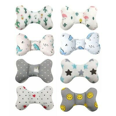 BABY BUTTERFLY PILLOW ANTISHAKE HEAD SUPPORT/CAR SEAT / STROLLER / SIDED gQAZM