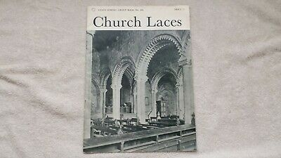 Church Laces. Coats Sewing Group Book no. 496. 1967. Good condition.