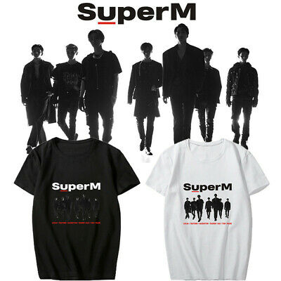 SUPERM T SHIRT SUPERM The 1st Mini Album Vinyl CD Unisex Casual Tshirt Top Tee