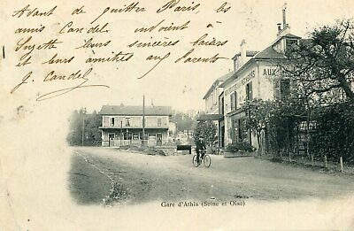 Carte Gare d'ATHIS MONS
