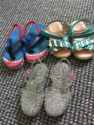 Baby Girls Infant Shoe Bundle Size 6 Sandals